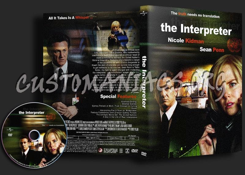 The Interpreter dvd cover