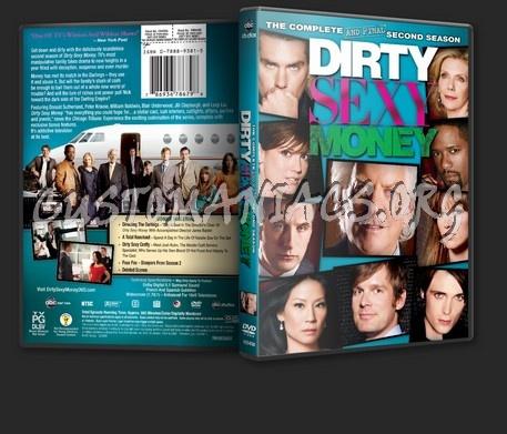 Dirty Sexy Money Season 2 dvd cover