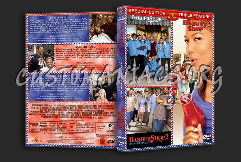 Barbershop 1 & 2 / Beauty Shop Triple Feature dvd cover