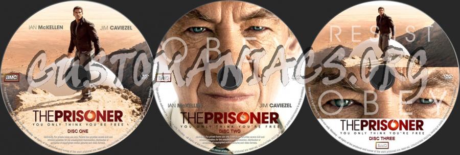 The Prisoner 2009 dvd label