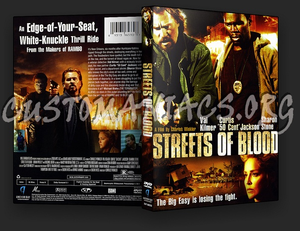 Streets of Blood dvd cover