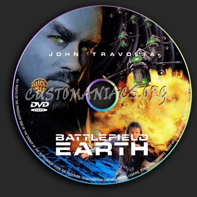 Battlefield Earth dvd label