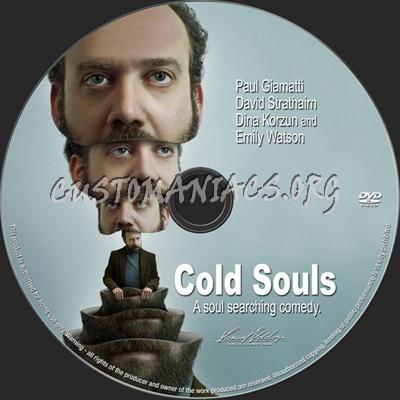 Cold Souls dvd label