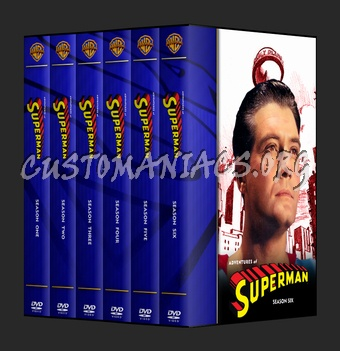 Adventures Of Superman dvd cover