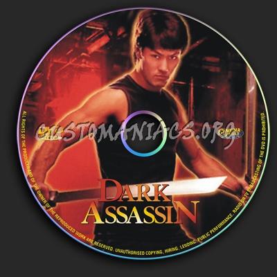 Dark Assassin dvd label