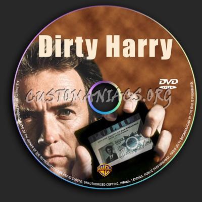 Dirty Harry dvd label