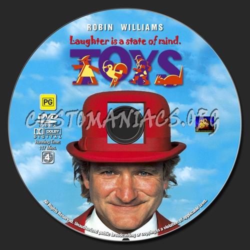 Toys dvd label