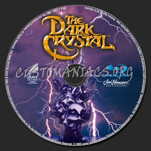 The Dark Crystal blu-ray label