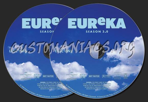 Eureka season 3. 0 dvd cover dvd covers & labels by customaniacs.