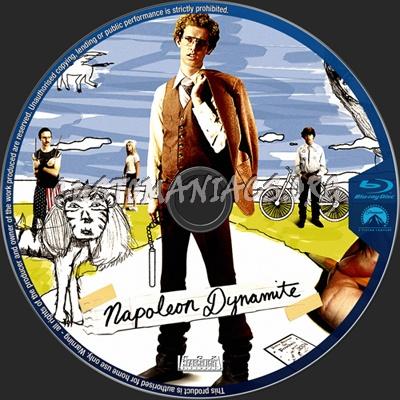 Napoleon Dynamite blu-ray label