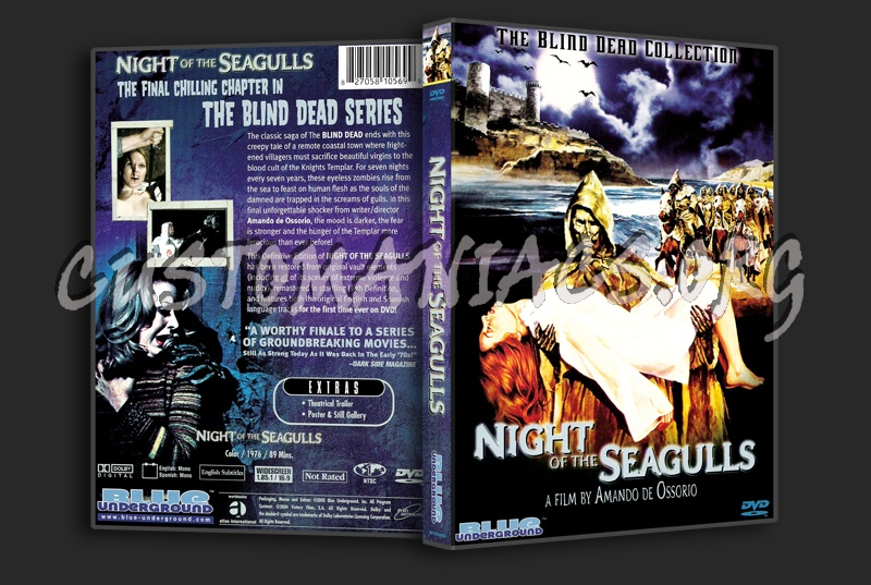 Night of the Seagulls dvd cover