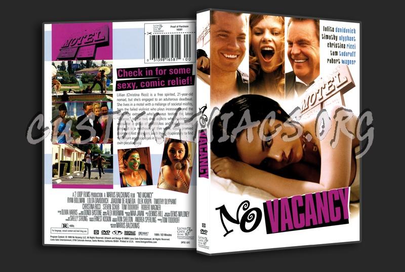 No Vacancy dvd cover
