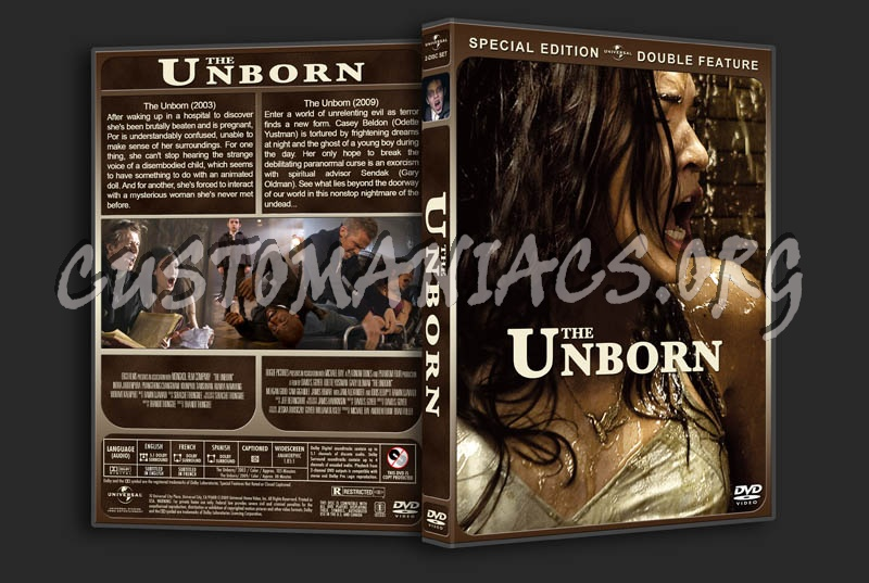 The Unborn Double Feature dvd cover