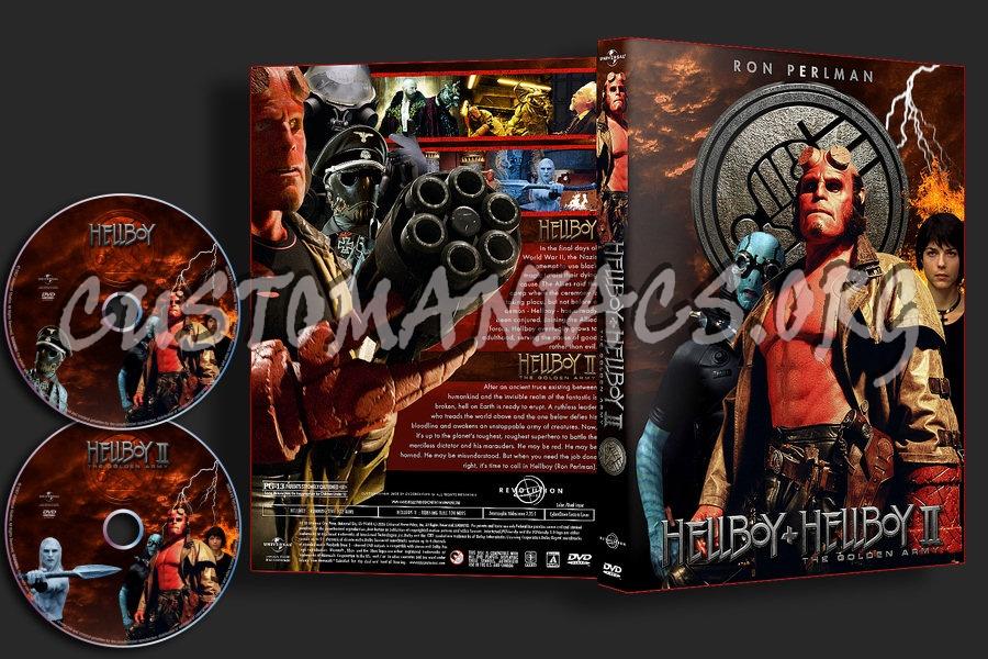 Hellboy : Hellboy & Golden Army Multi dvd cover