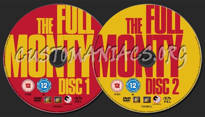 Full Monty, The dvd label