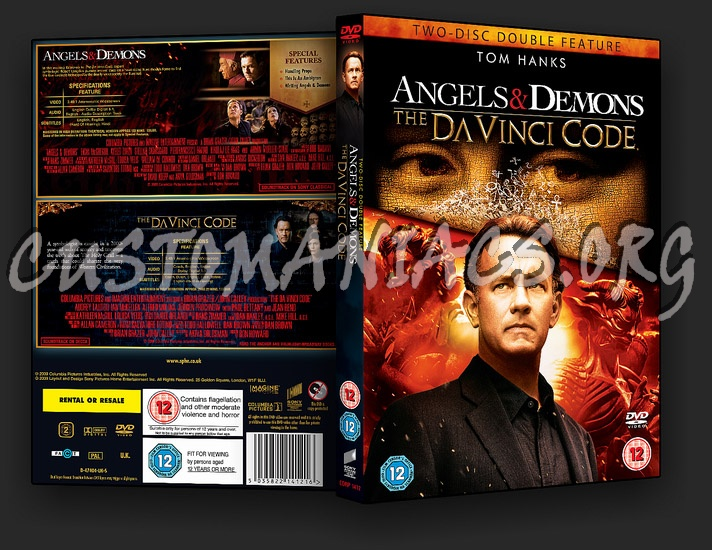 The Da Vinci Code / Angels and Demons Double Feature dvd cover