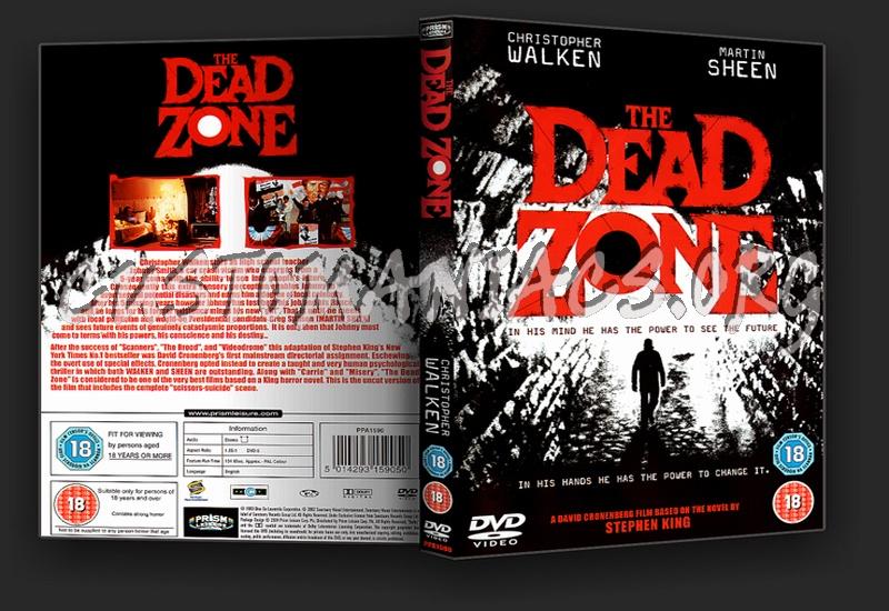 The Dead Zone dvd cover