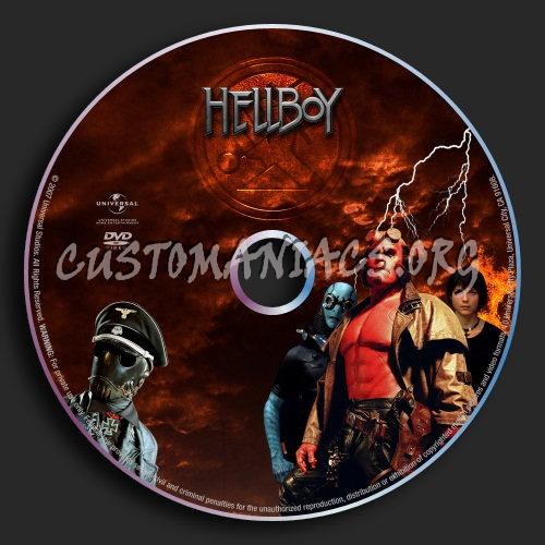 Hellboy : Hellboy & Golden Army Multi dvd label