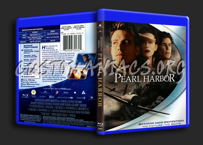 Pearl Harbor blu-ray cover