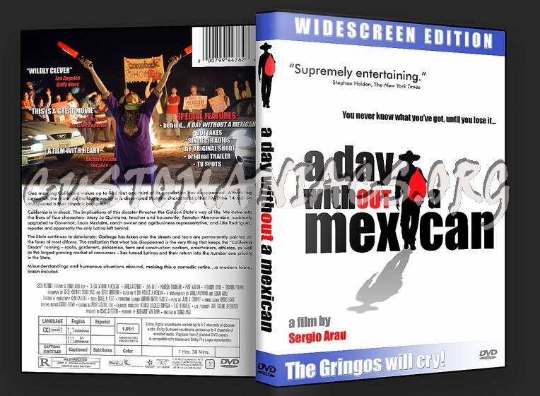 A Day Without a Mexican dvd cover