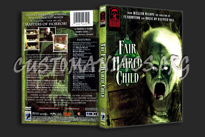 The Fair Haired Child dvd cover