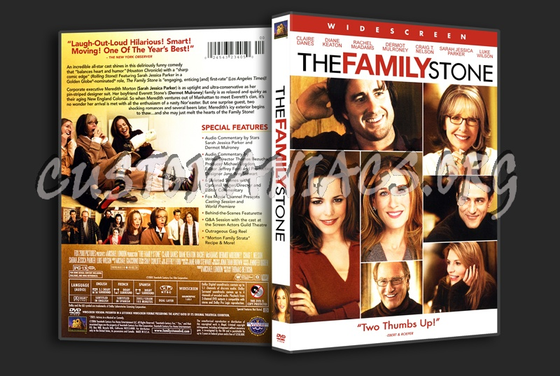 The Family Stone dvd cover