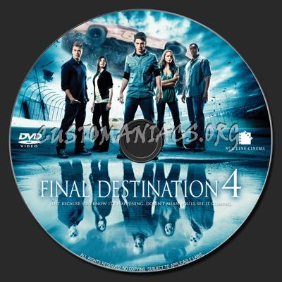 The Final Destination dvd label