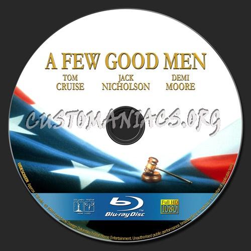 A Few Good Men blu-ray label