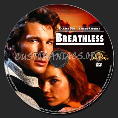 Breathless dvd label