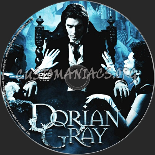 Dorian Gray dvd label