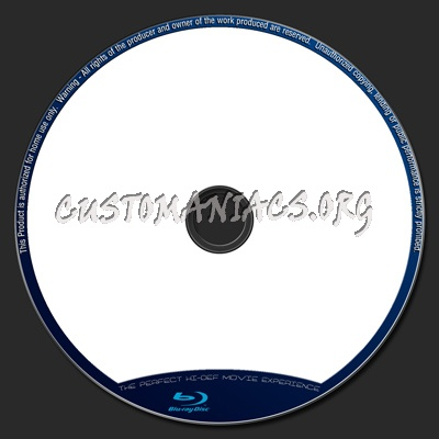 Blu-Ray Disc Label Template By Flyers2Thecup Dvd Label - Dvd