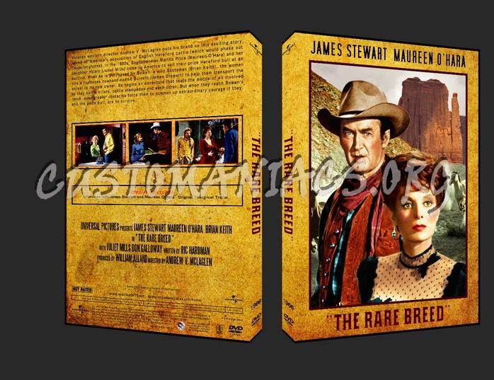 The Rare Breed 1966 dvd cover