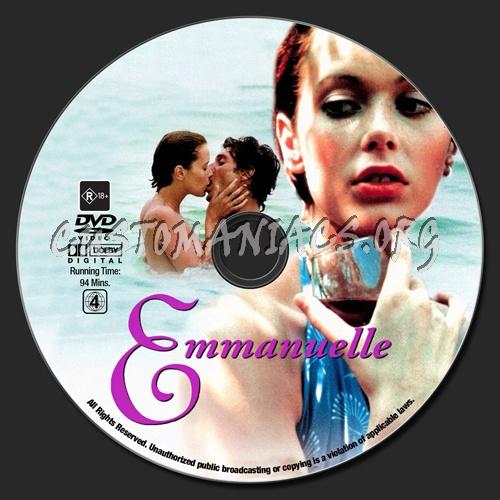 Emmanuelle dvd label