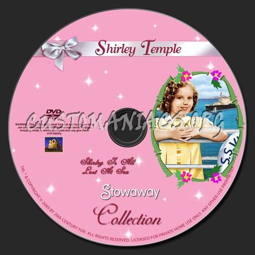 Stowaway 1936 dvd label