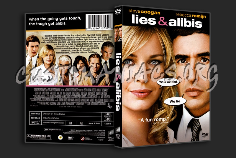 Lies And Alibis dvd cover