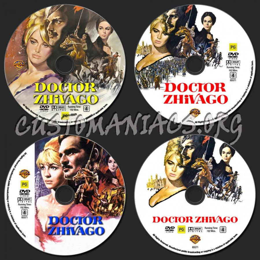 Doctor Zhivago dvd label