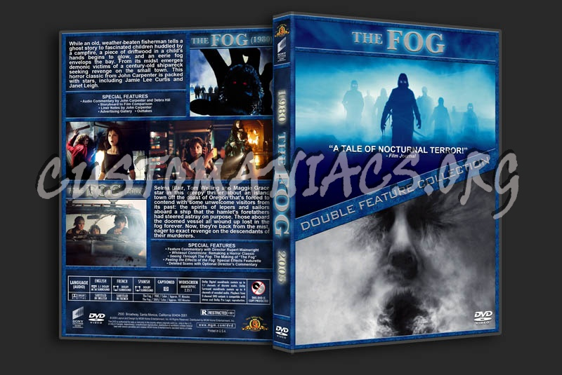 The Fog Double Feature dvd cover