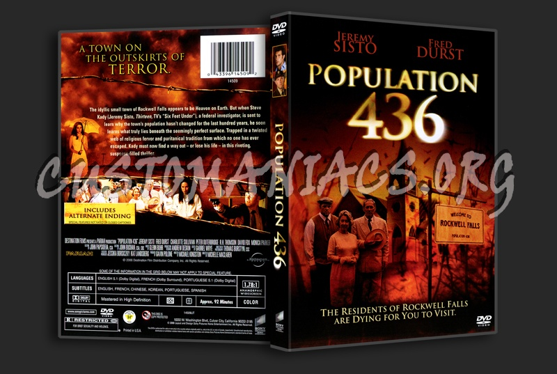 Population 436 dvd cover