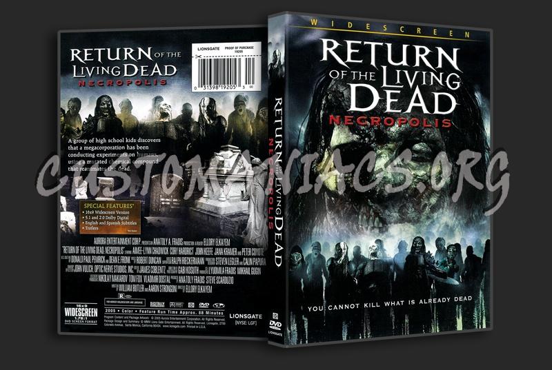 Return of the Living Dead dvd cover