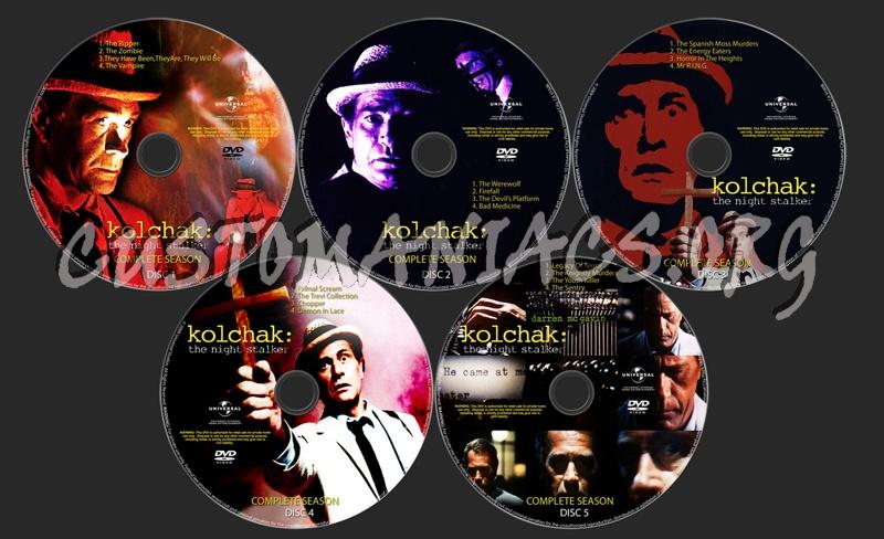 Night Stalker Dvd Kolchak:the Night Stalker Dvd