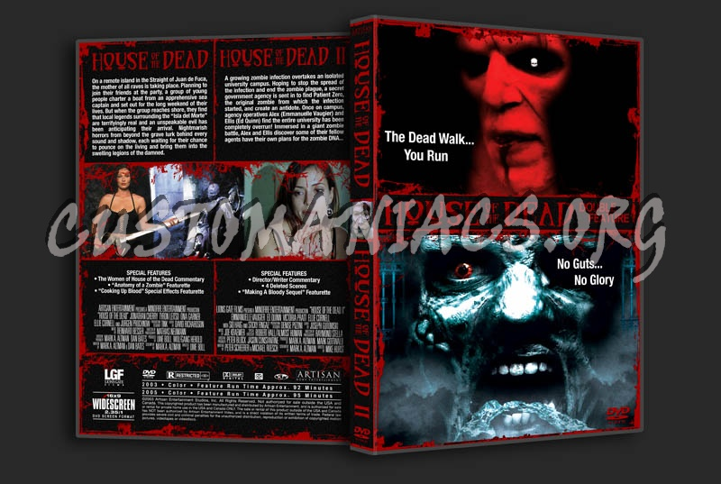 House of the Dead 1 & 2 Double Feature dvd cover