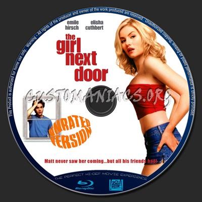 The Girl Next Door Blu Ray Label