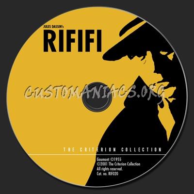 115 - Rififi dvd label