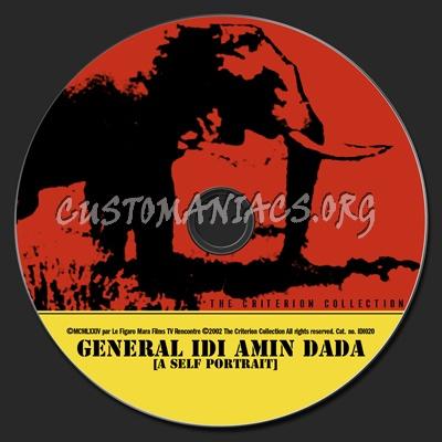 153 - General Idi Amin Dada dvd label