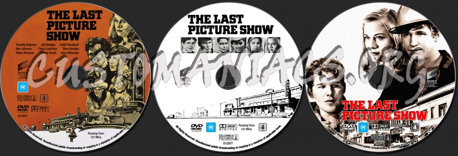The Last Picture Show dvd label