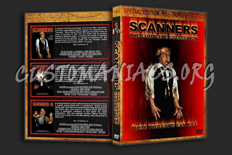 Scanners: The Complete Collection dvd cover