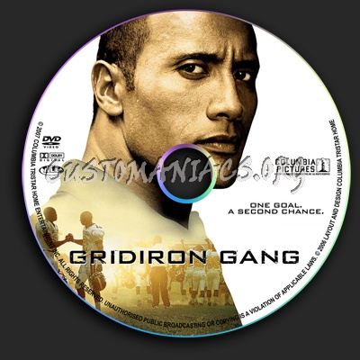 Gridiron Gang dvd label