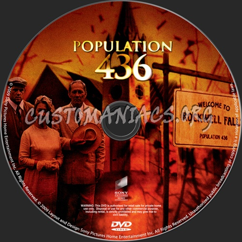 Population 436 dvd label