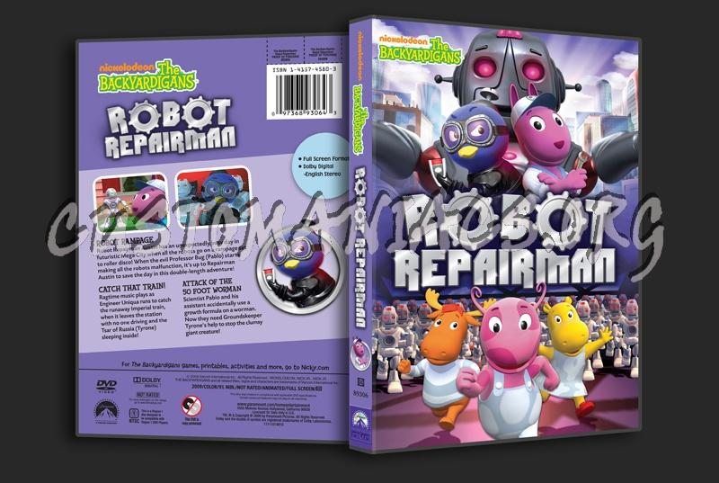 The Backyardigans Robot Repairman Dvd Cover Dvd Covers