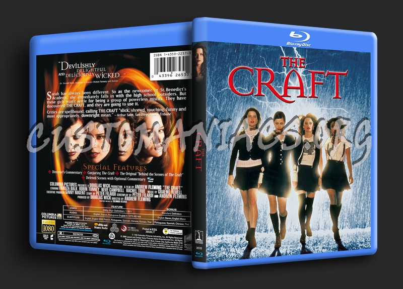 The Craft blu-ray cover